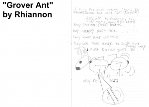 "Vote for ""Grover Ant"" as the name by Rhiannon"
