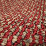 details of rug used for experiment, close-up of the fibers
